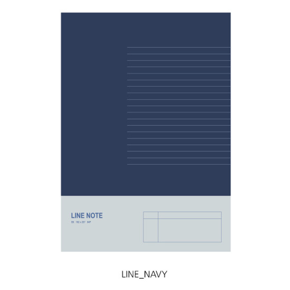 Lined - O-CHECK Spring come large school notebook