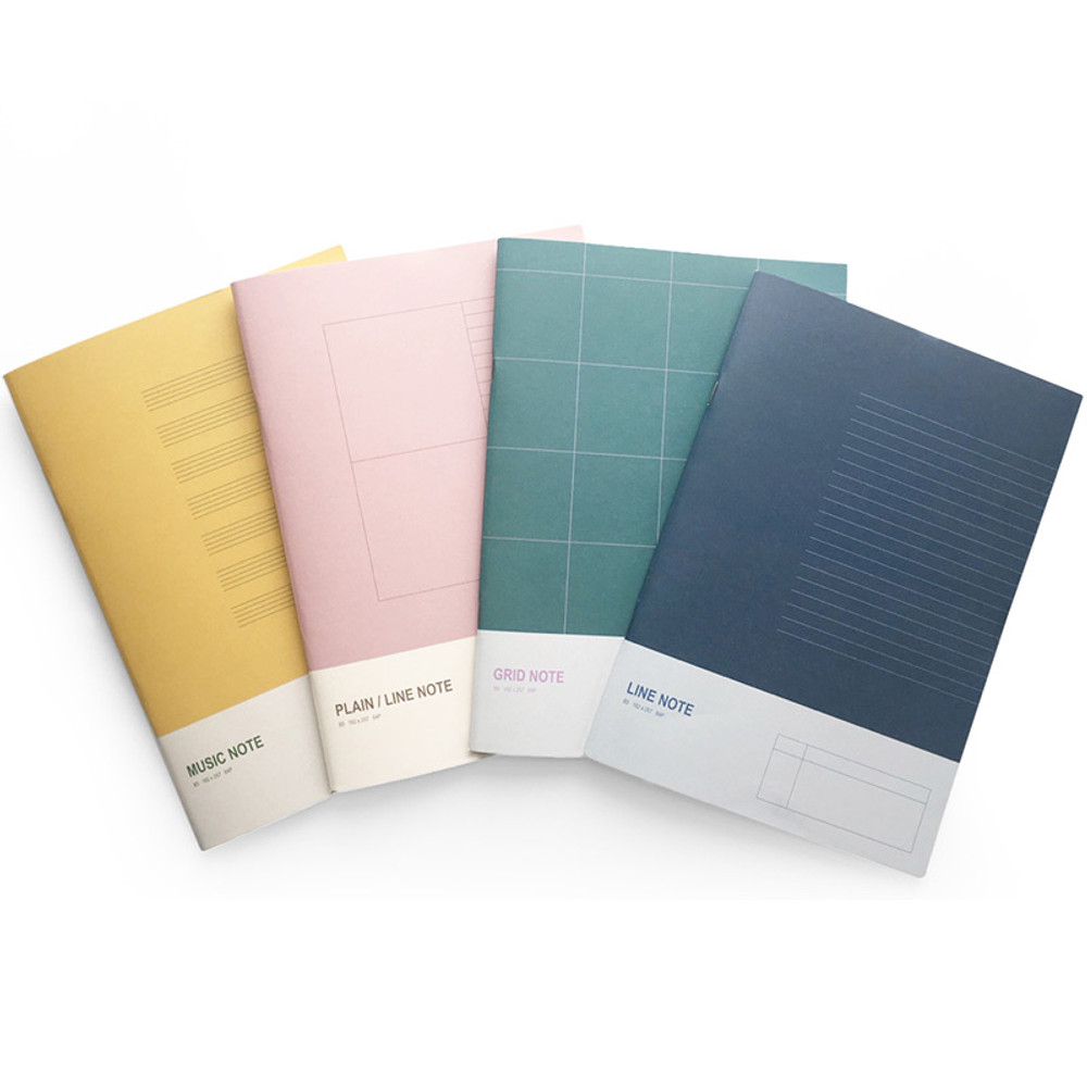 O-CHECK Spring come large school notebook