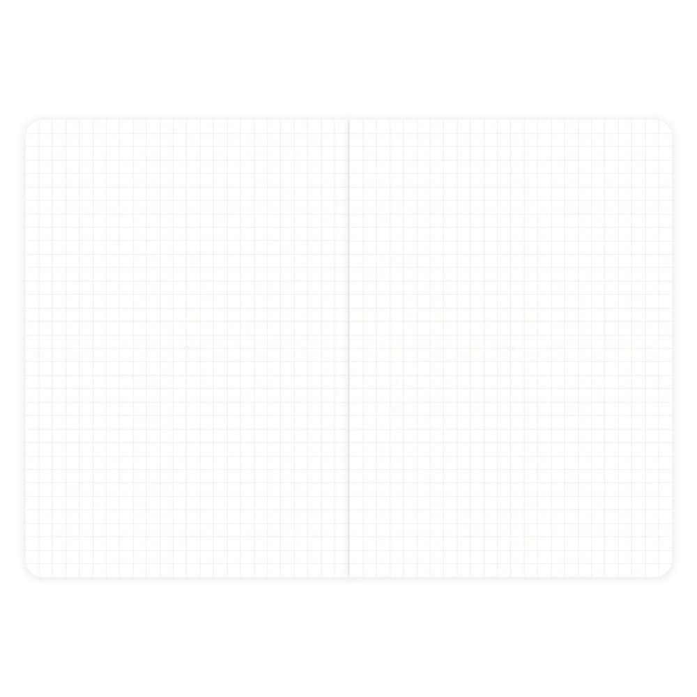 Simple G A5 grid soft cover notebook