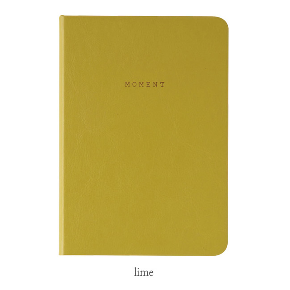 Lime - Livework Moment small lined notebook ver3