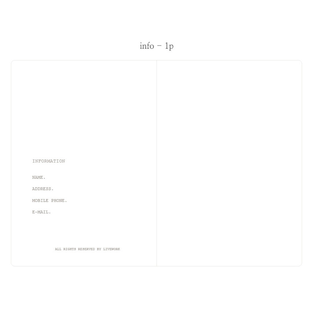 Info - Livework Moment small blank notebook ver3