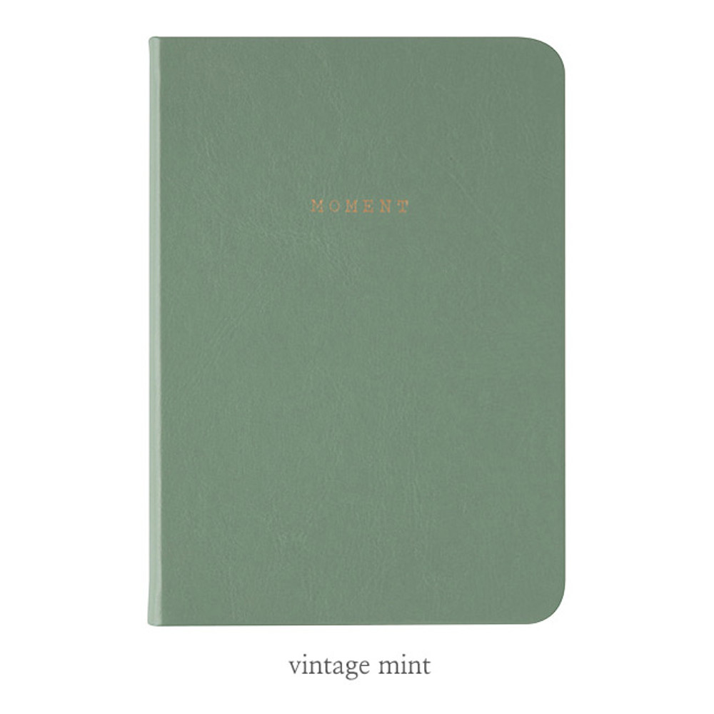 Vintage mint - Livework Moment small blank notebook ver3