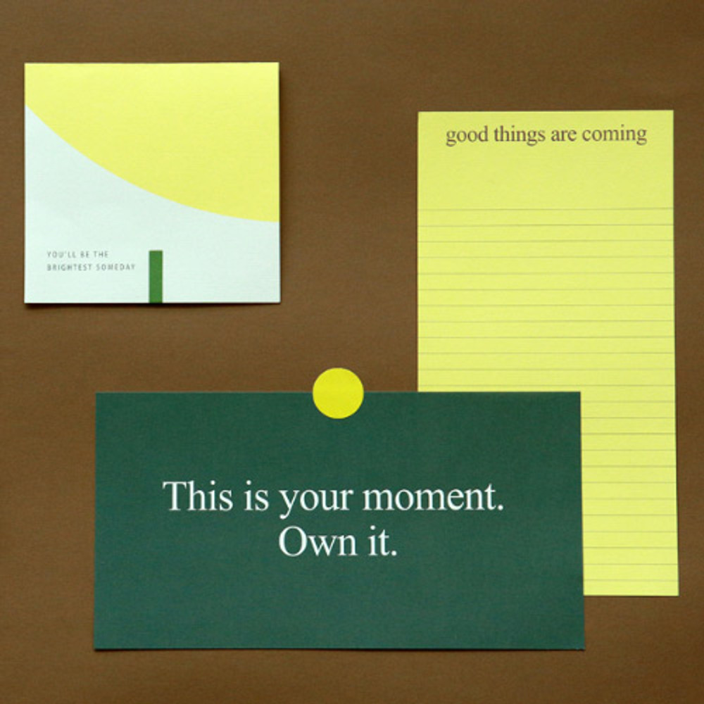 Example of use - Dailylike Choice message letter envelope set