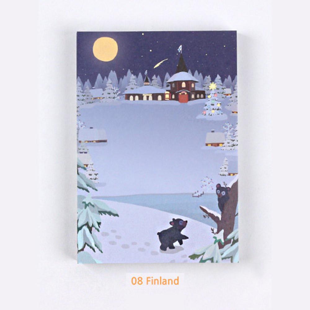 08 Finland - The Bon Bon Jour trois fois heureux memo notepad ver2