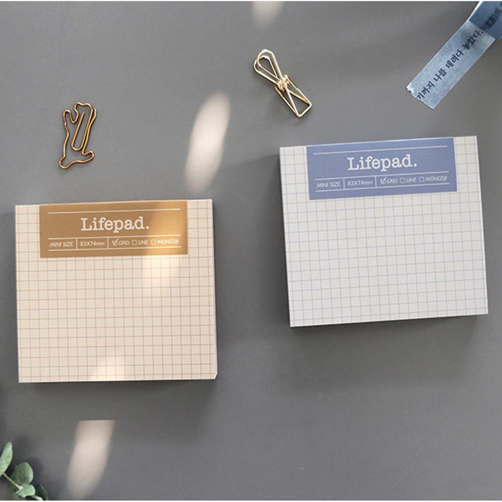 Grid - PAPERIAN Lifepad small writing memo notepad