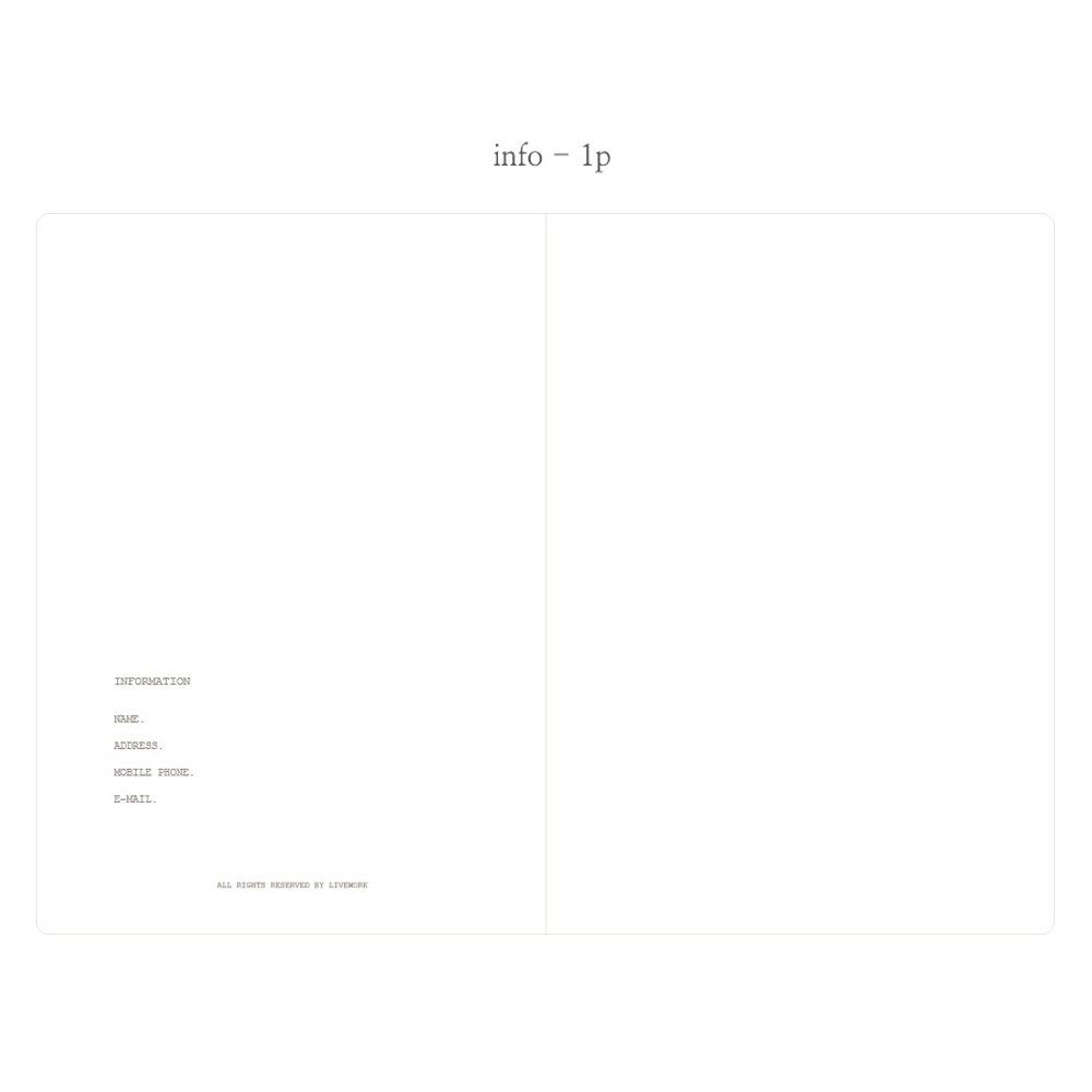 Info - Livework Moment large blank notebook ver3