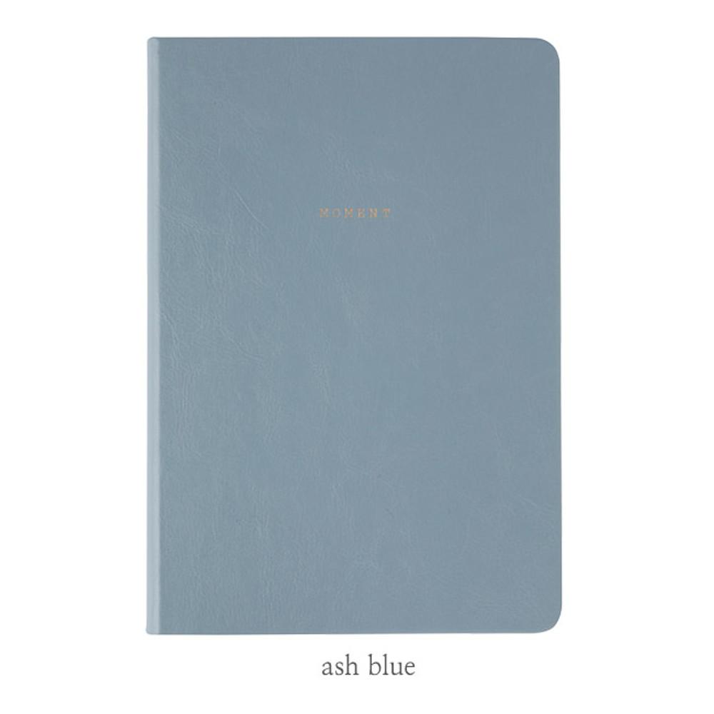 Ash blue - Livework Moment large lined notebook ver3