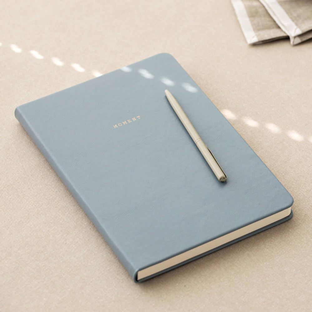 Ash blue - Livework Moment large blank notebook ver3