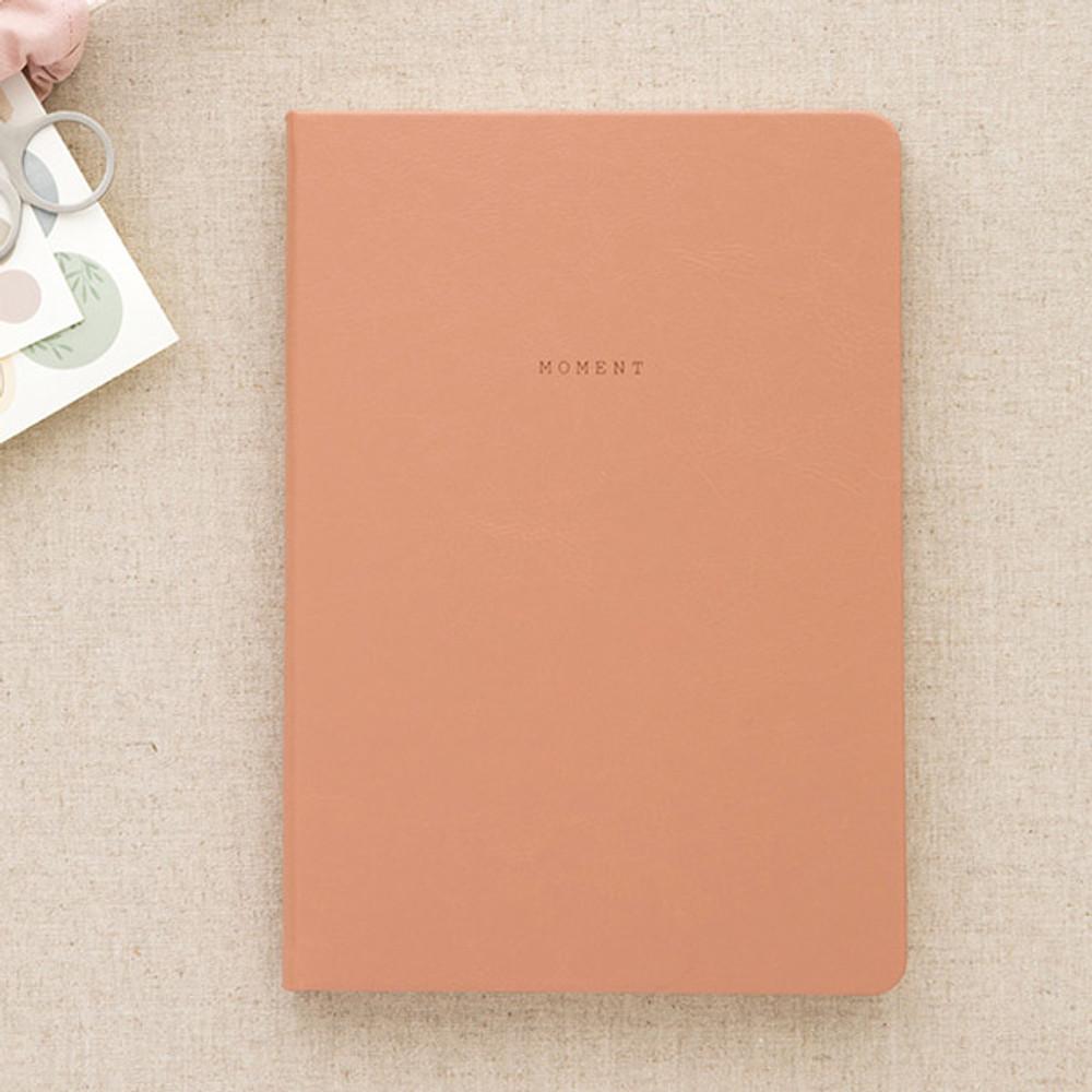 Beige pink - Livework Moment large blank notebook ver3
