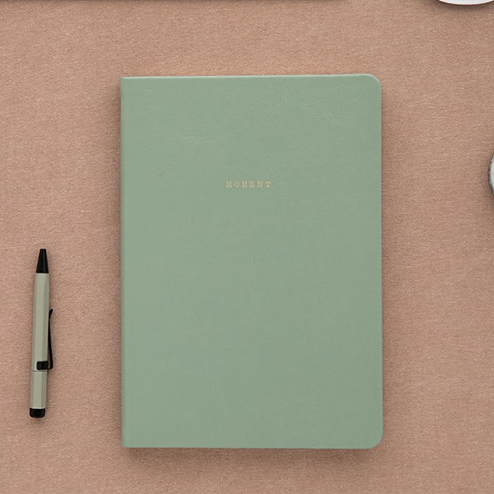 Vintage mint - Livework Moment large blank notebook ver3