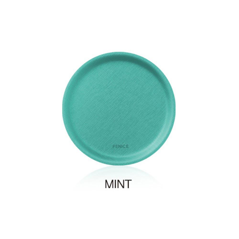 Mint - Fenice Premium PU drink coaster small tray