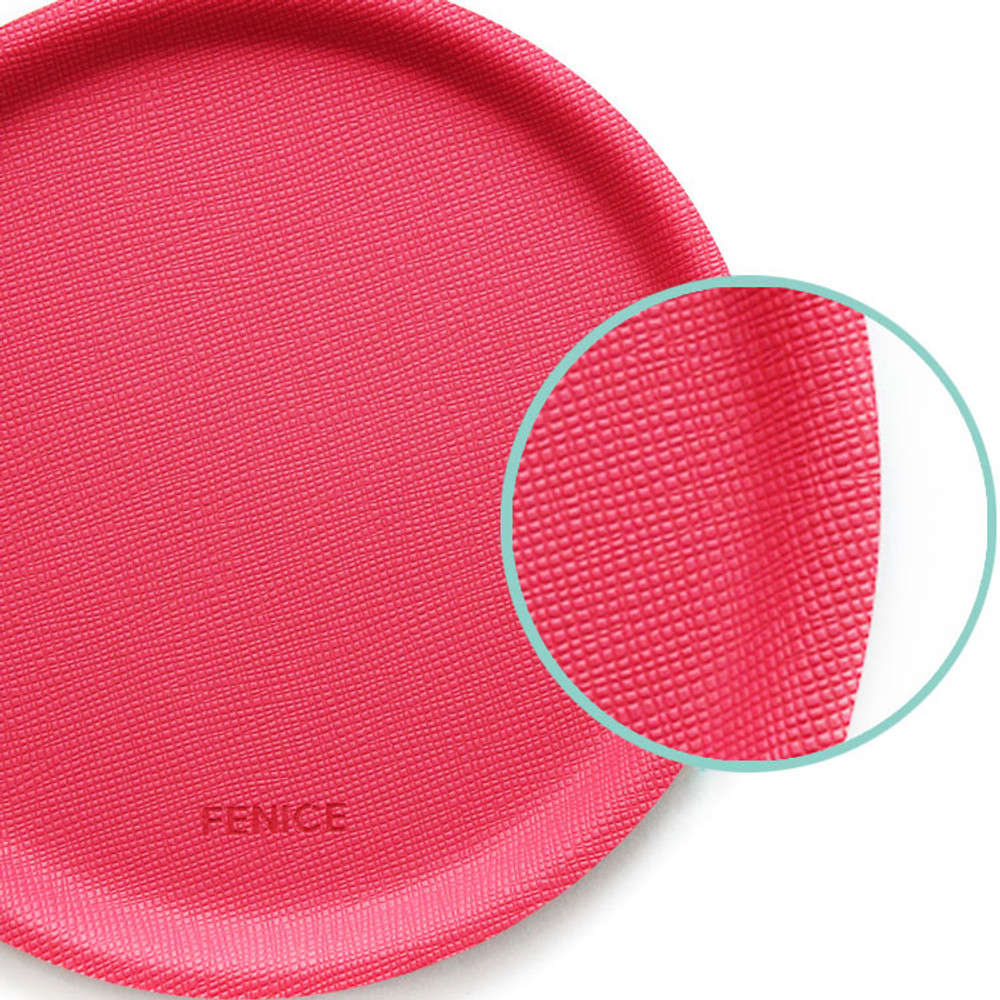 Fenice Premium PU drink coaster small tray