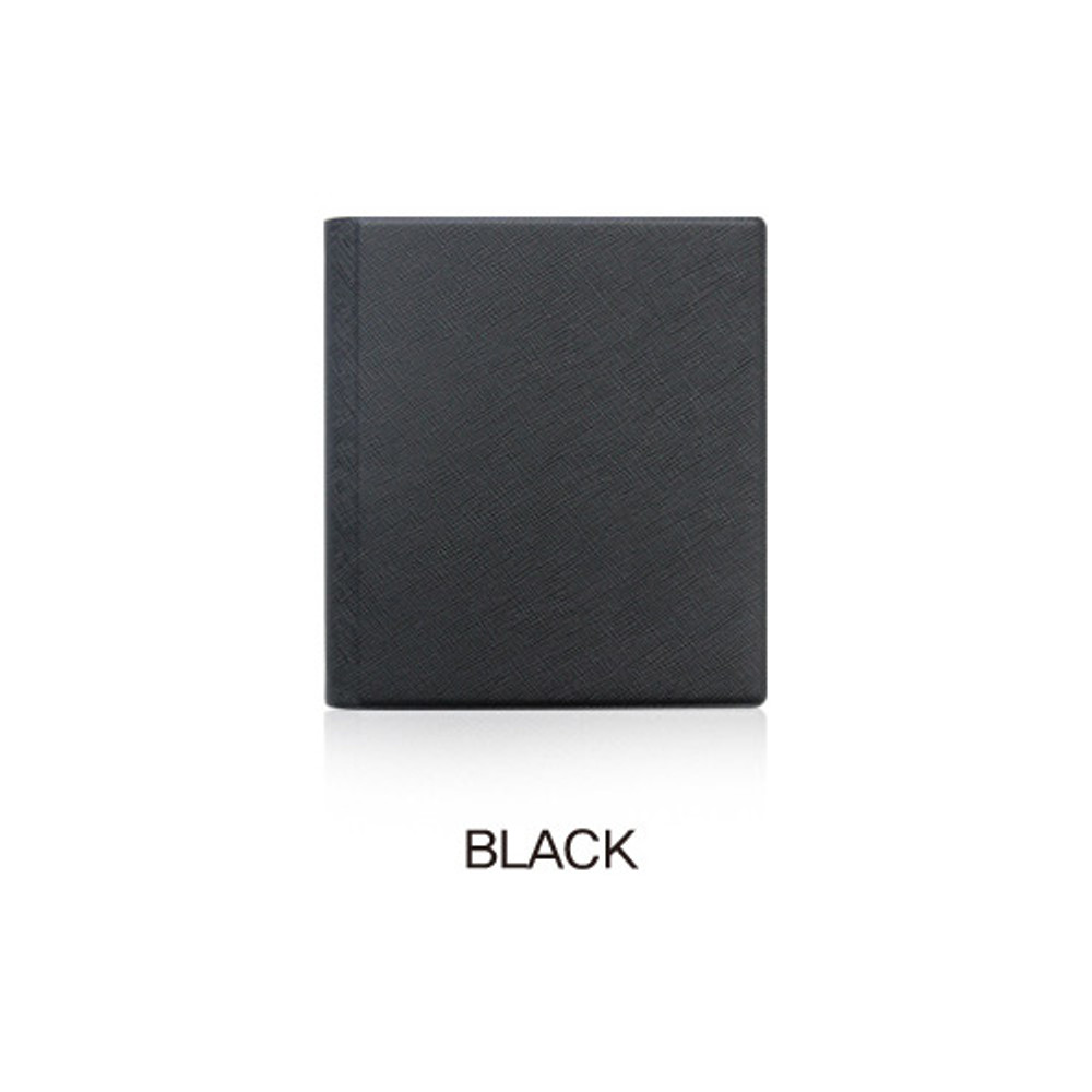 Black - Fenice Premium PU business card book holder case
