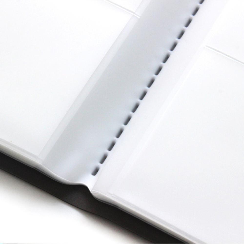 80 pockets - Fenice Premium PU business card book holder case