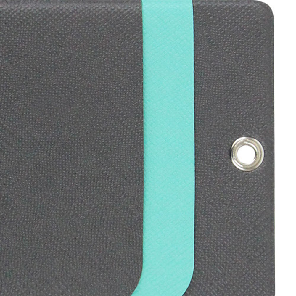 2 color - Fenice Premium PU business pocket card case with neck strap