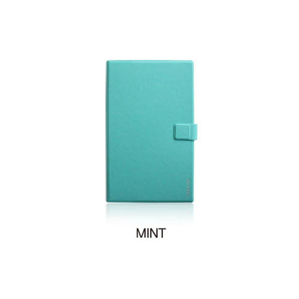 Mint - Fenice Premium business PU cover medium dotted notebook