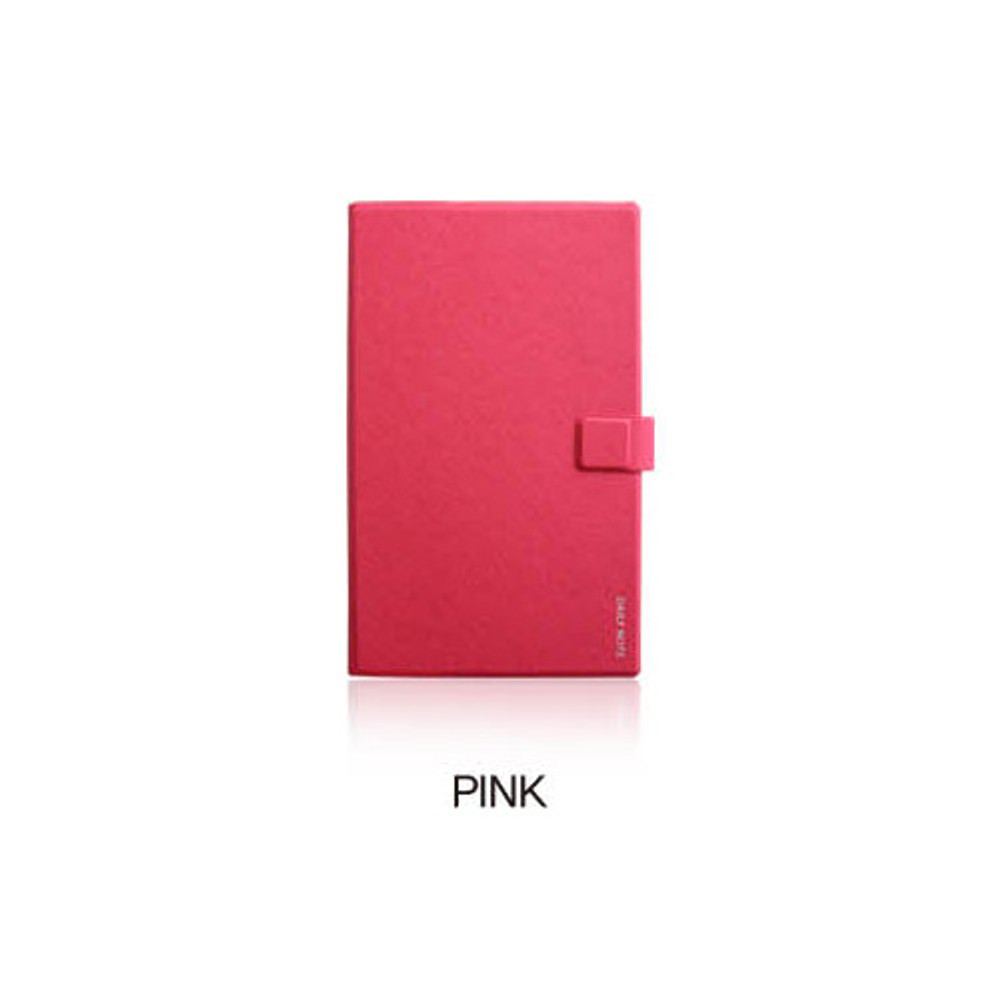 Pink - Fenice Premium business PU cover medium dotted notebook