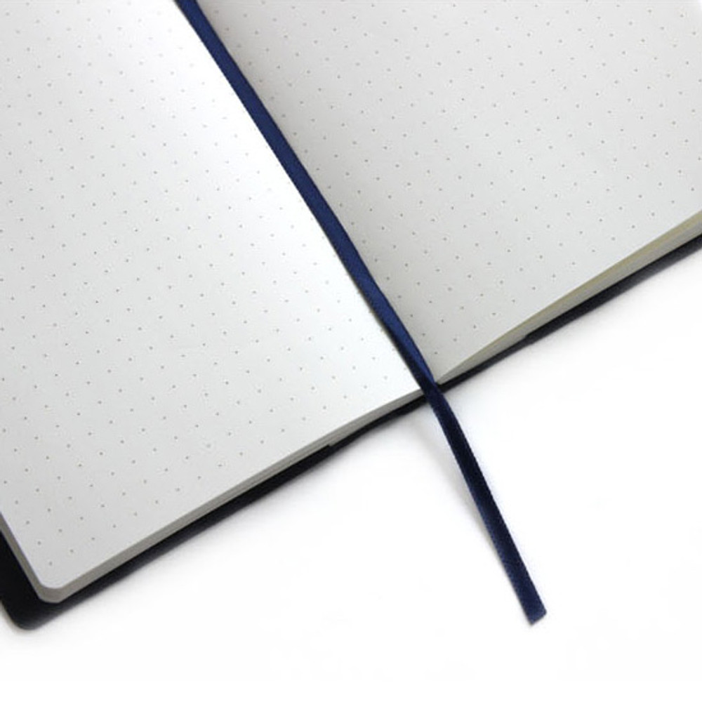 Ribbon bookmark - Fenice Premium business PU cover medium dotted notebook