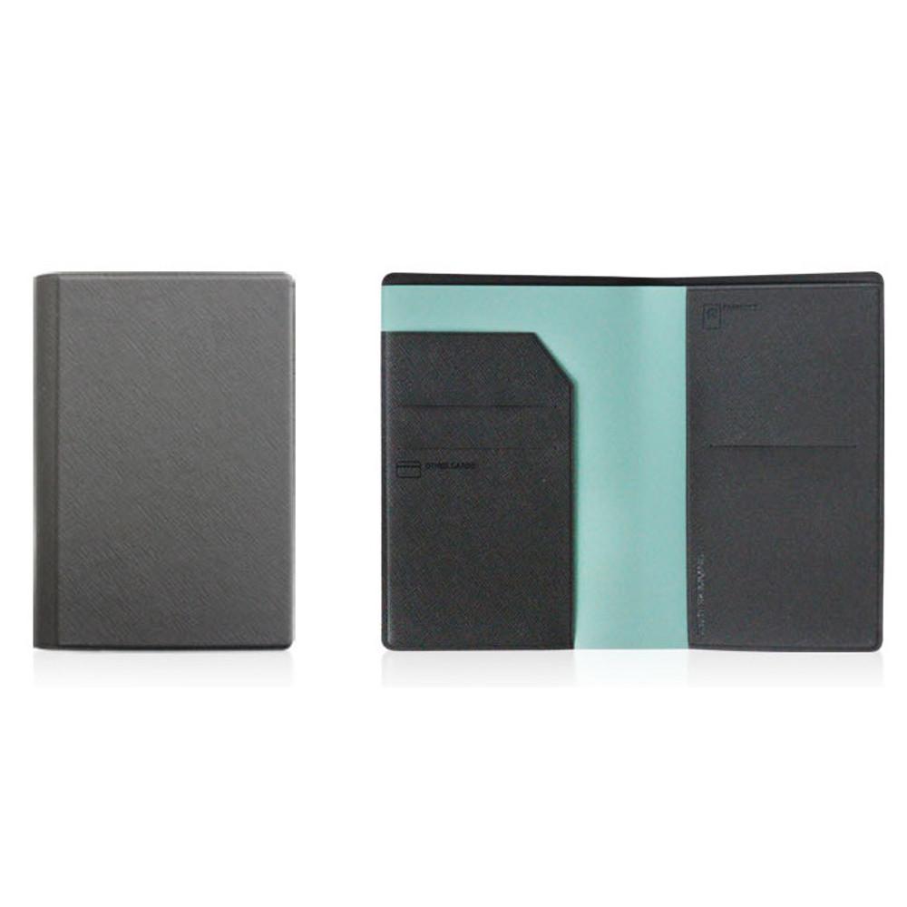 Fenice Premium PU RFID blocking small passport case holder wallet