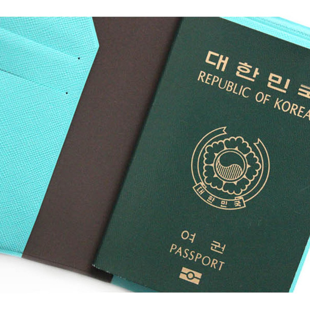 Passport holder - Fenice Premium PU RFID blocking small passport case holder wallet
