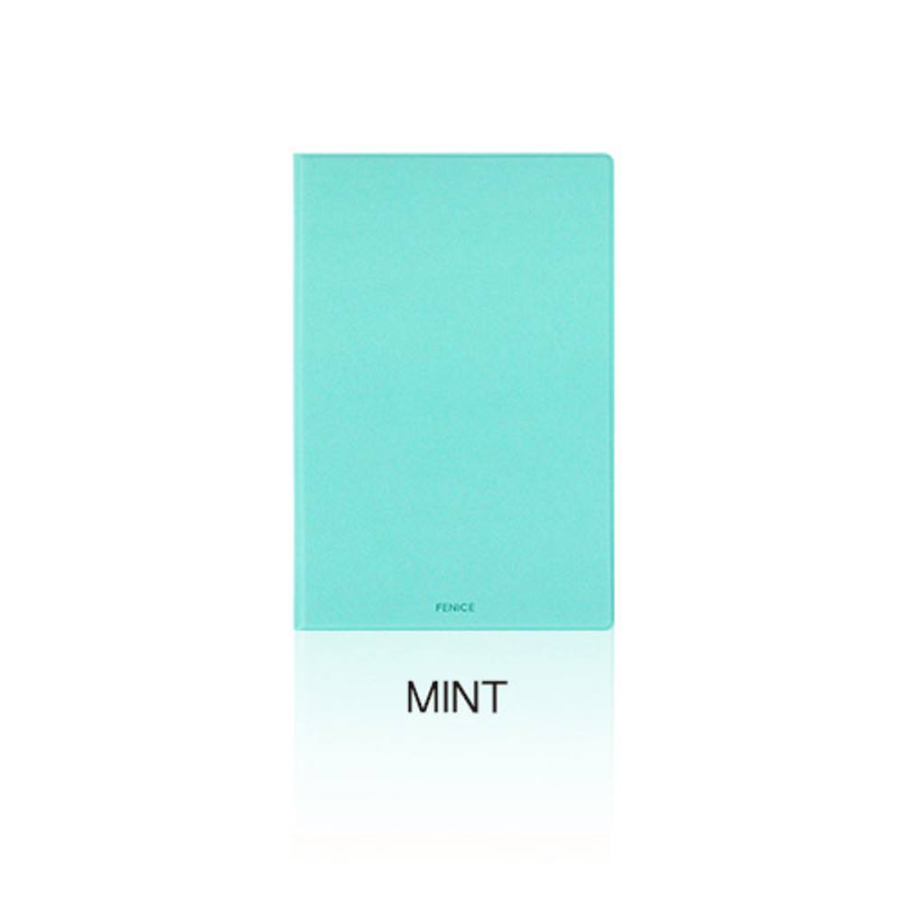 Mint - Fenice Premium PU business A5 size notepad holder organizer