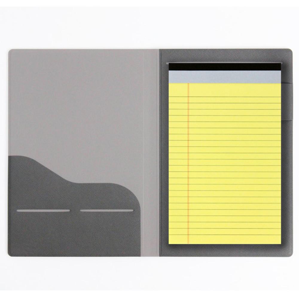 Fenice Premium PU business A5 size notepad holder organizer