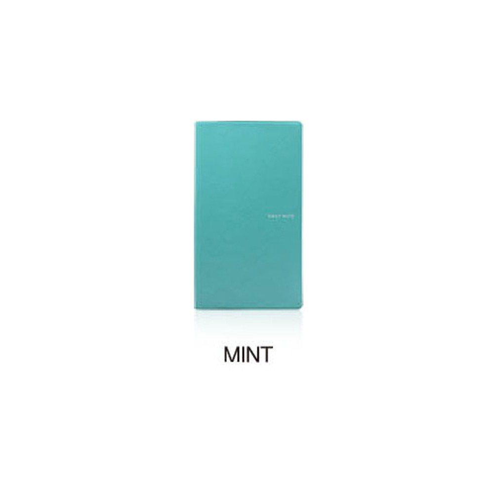 Mint - Fenice Premium business PU soft cover small dotted notebook
