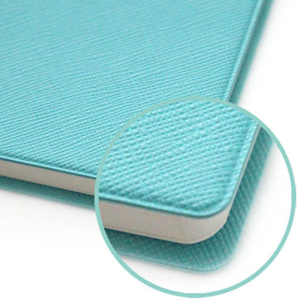 Seamless cover - Fenice Premium business PU soft cover small dotted notebook