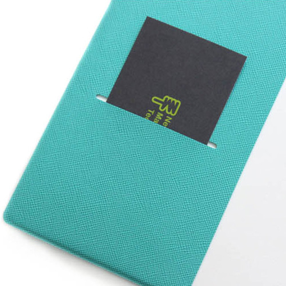 Inner pocket - Fenice Premium business PU soft cover small dotted notebook