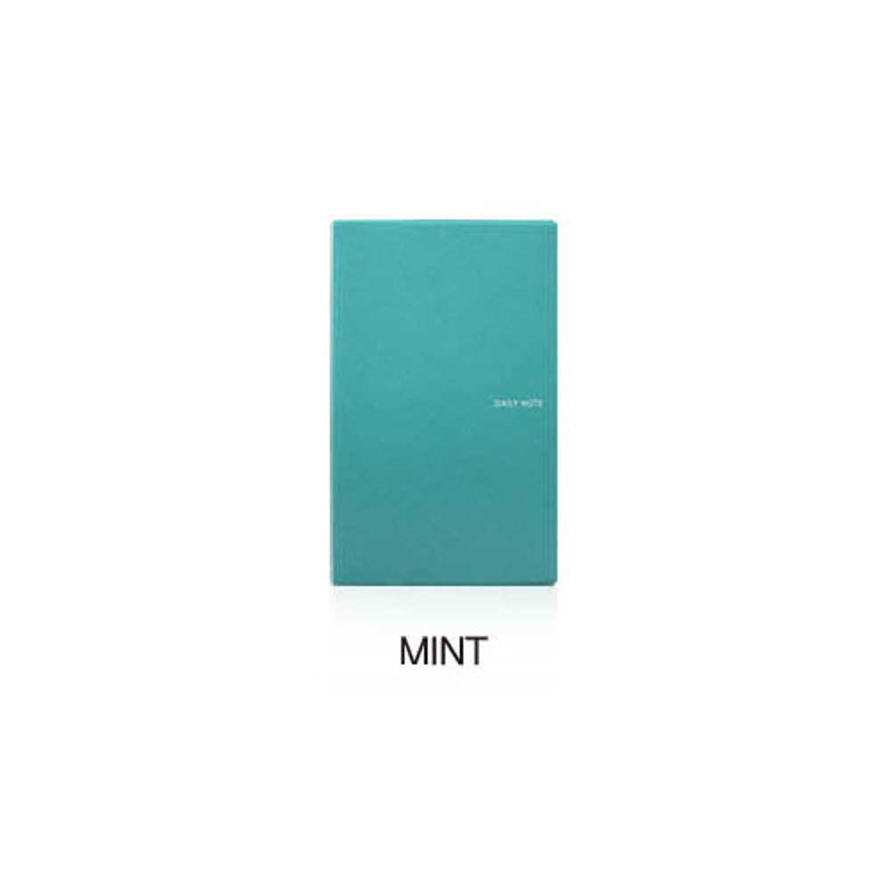 Mint - Fenice Premium business PU soft cover medium dotted notebook