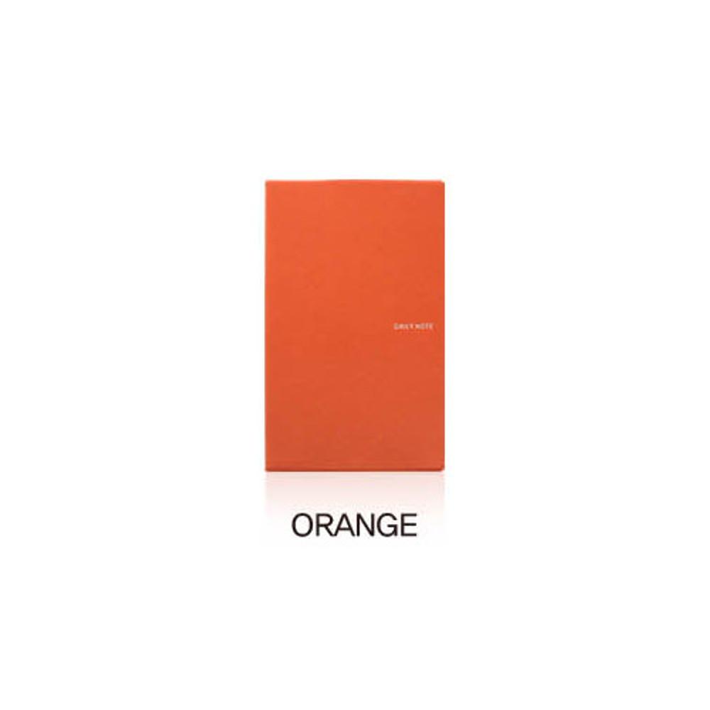 Orange - Fenice Premium business PU soft cover medium dotted notebook