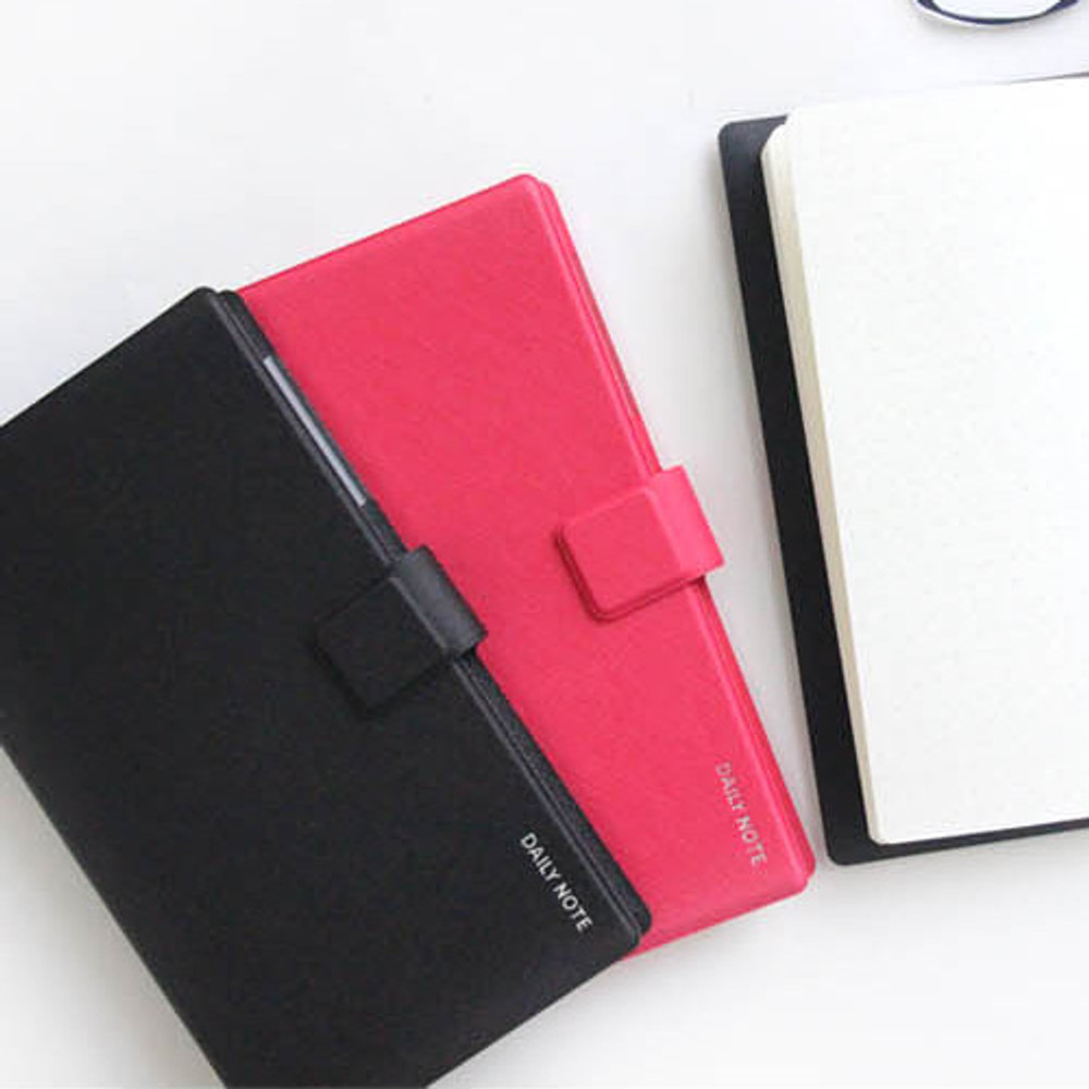 Fenice Premium business PU cover small dotted notebook