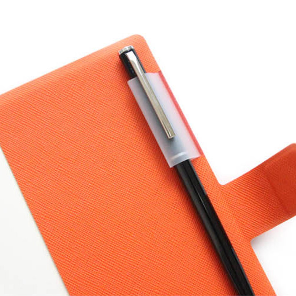 Pen holder - Fenice Premium business PU cover small dotted notebook