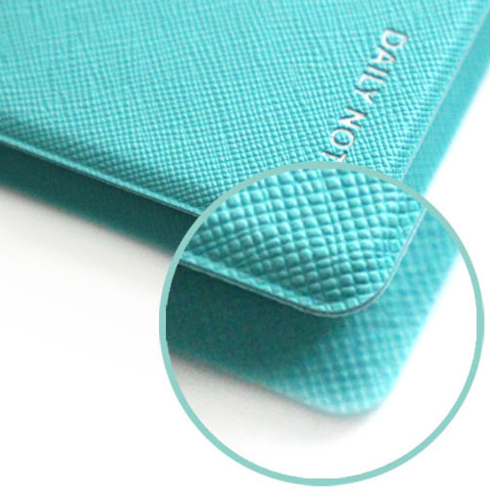 Seamless Fenice Premium business PU cover small dotted notebook