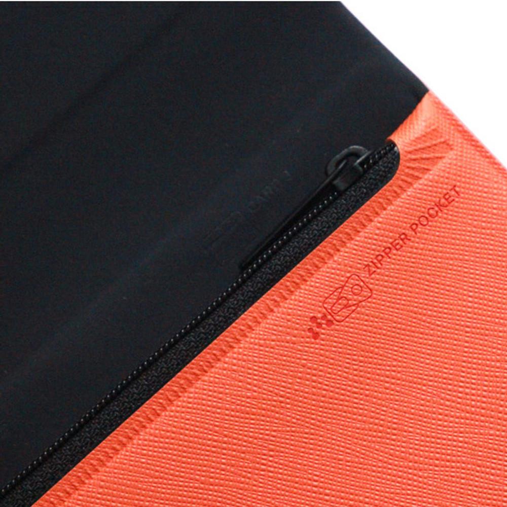 Zipper pocket -  Fenice Premium PU large passport case holder zipper wallet