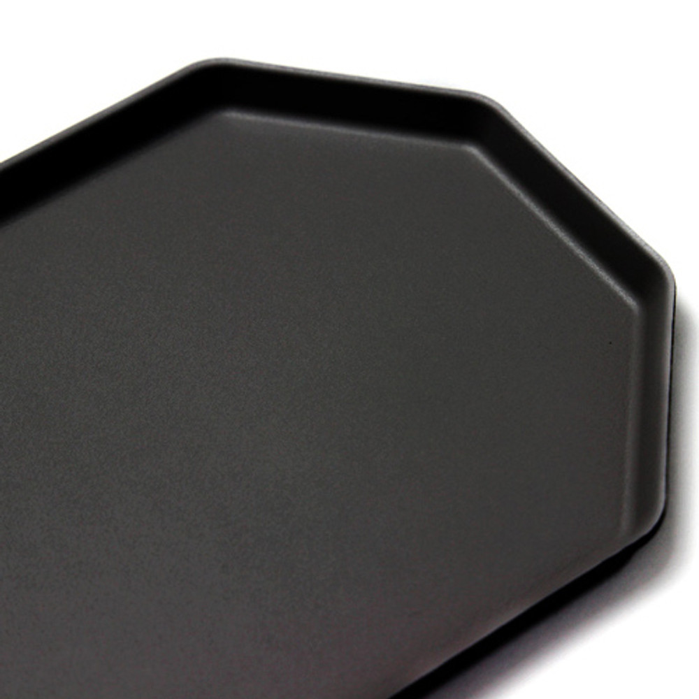 Fenice Premium PU leather decorative serving octagon tray