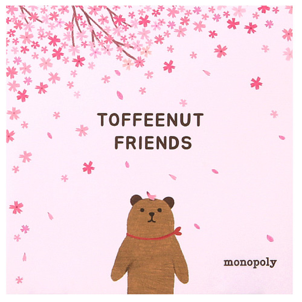 Cover - Monopoly Toffeenut sweet and warm illustration memo notepad