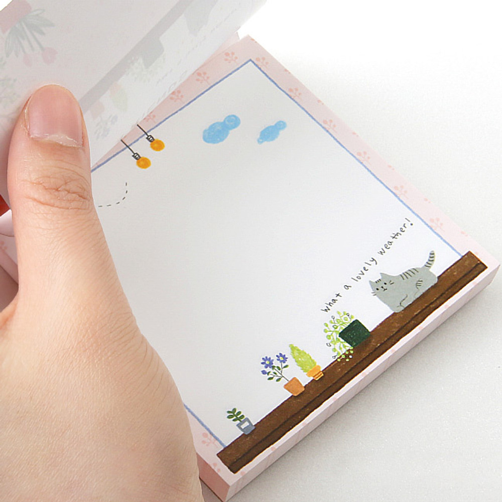 Easy tear off - Monopoly Toffeenut sweet and warm illustration memo notepad