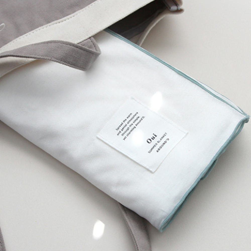 Cream - Gunmangzeung Oui around'D fabric summer blanket ver3