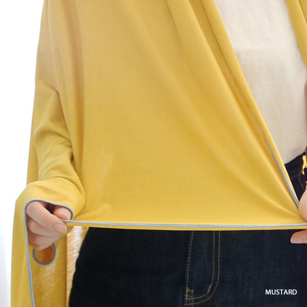 Mustard - Gunmangzeung Oui around'D fabric summer blanket ver3