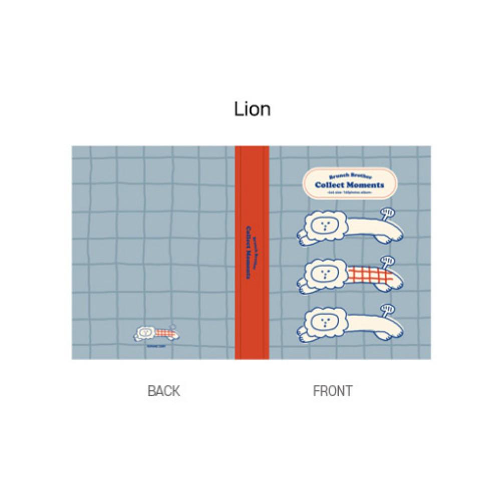 Lion - ROMANE Brunch brother 4X6 slip in pocket photo album