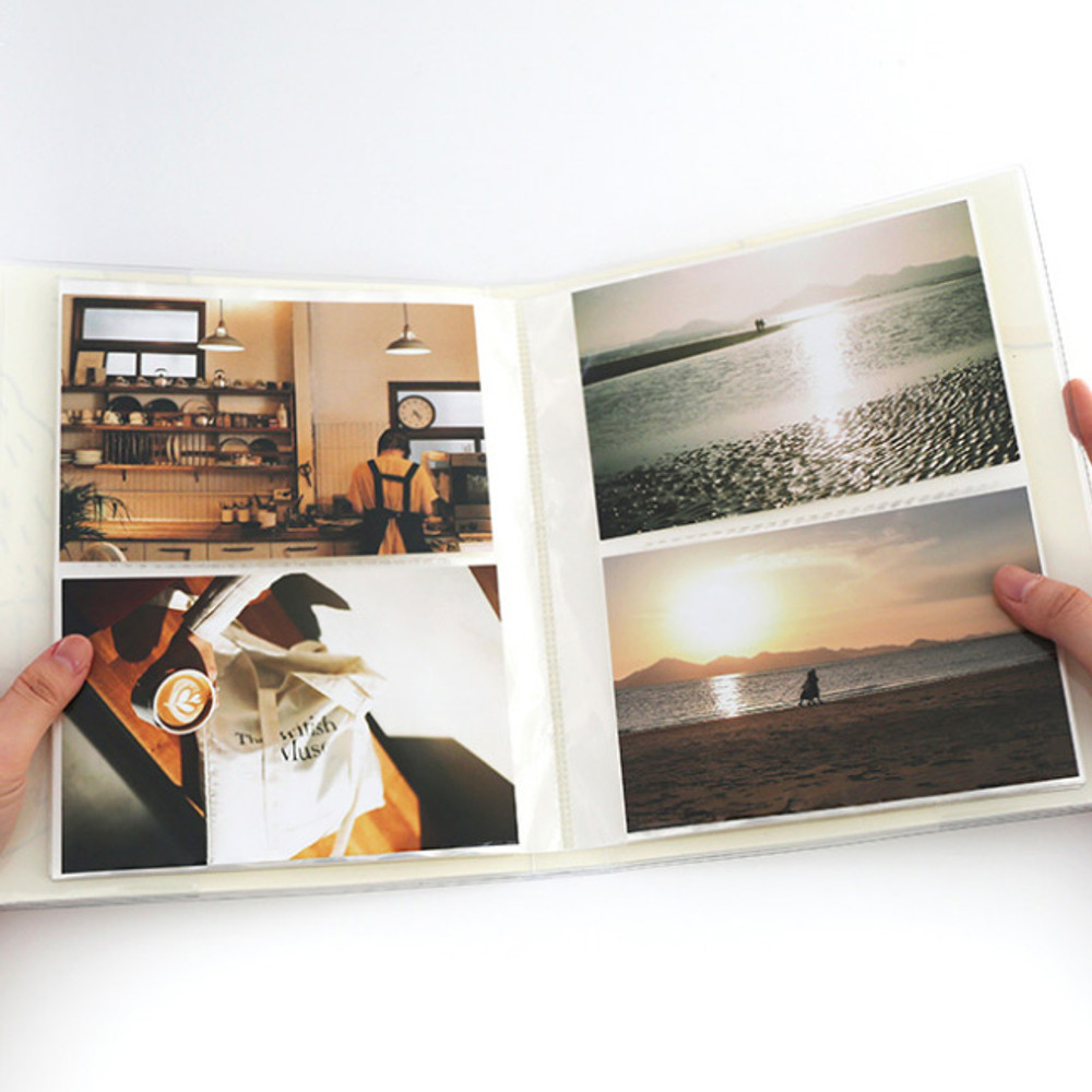 For 4X6 inches photo - ROMANE Brunch brother 4X6 slip in pocket photo album