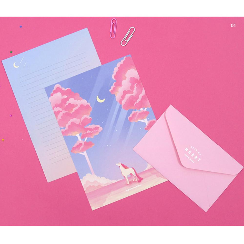 01 - Second Mansion Moonlight letter paper envelope set
