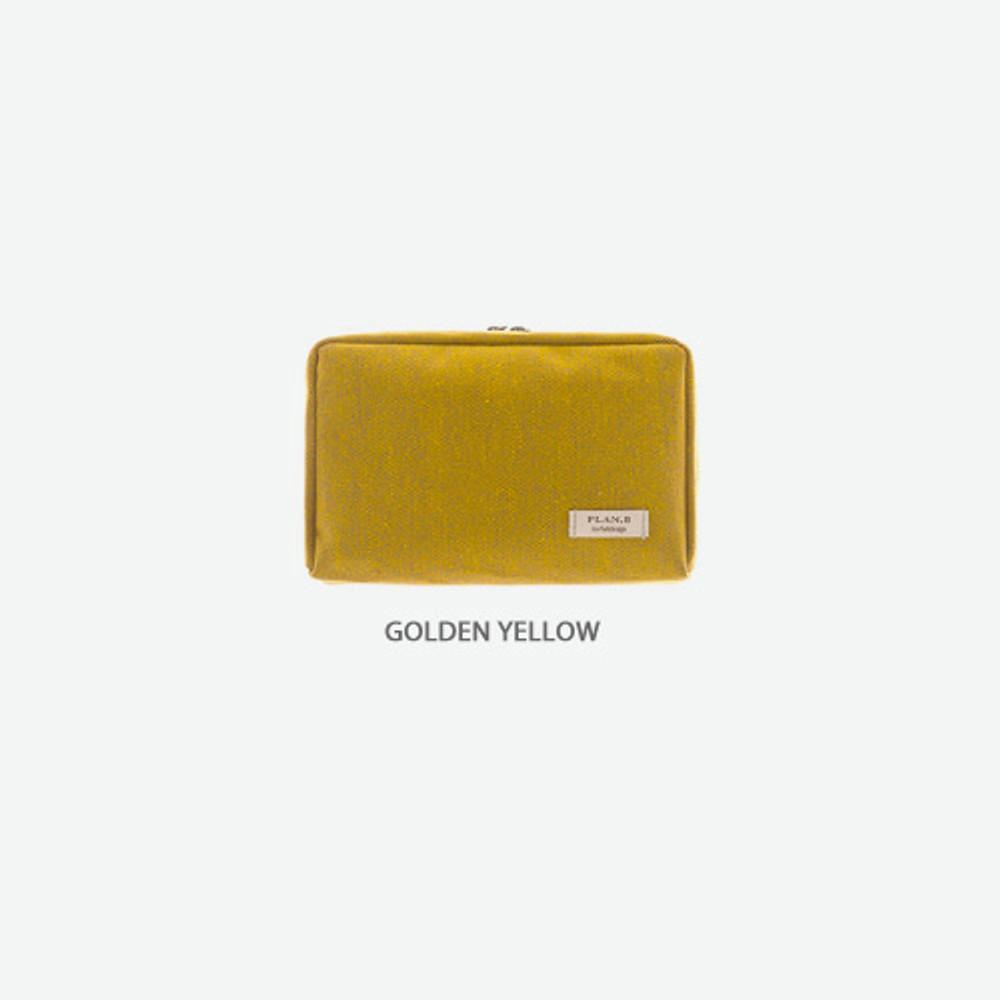 Golden yellow - Byfulldesign Oxford basic bank pocket pouch ver4