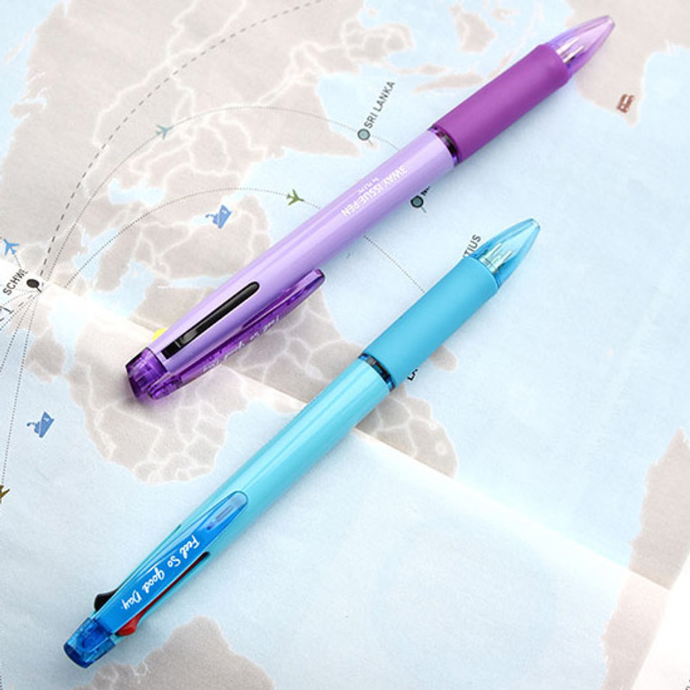 Example of use - Play obje 3way issue 0.7mm ballpoint multi pen