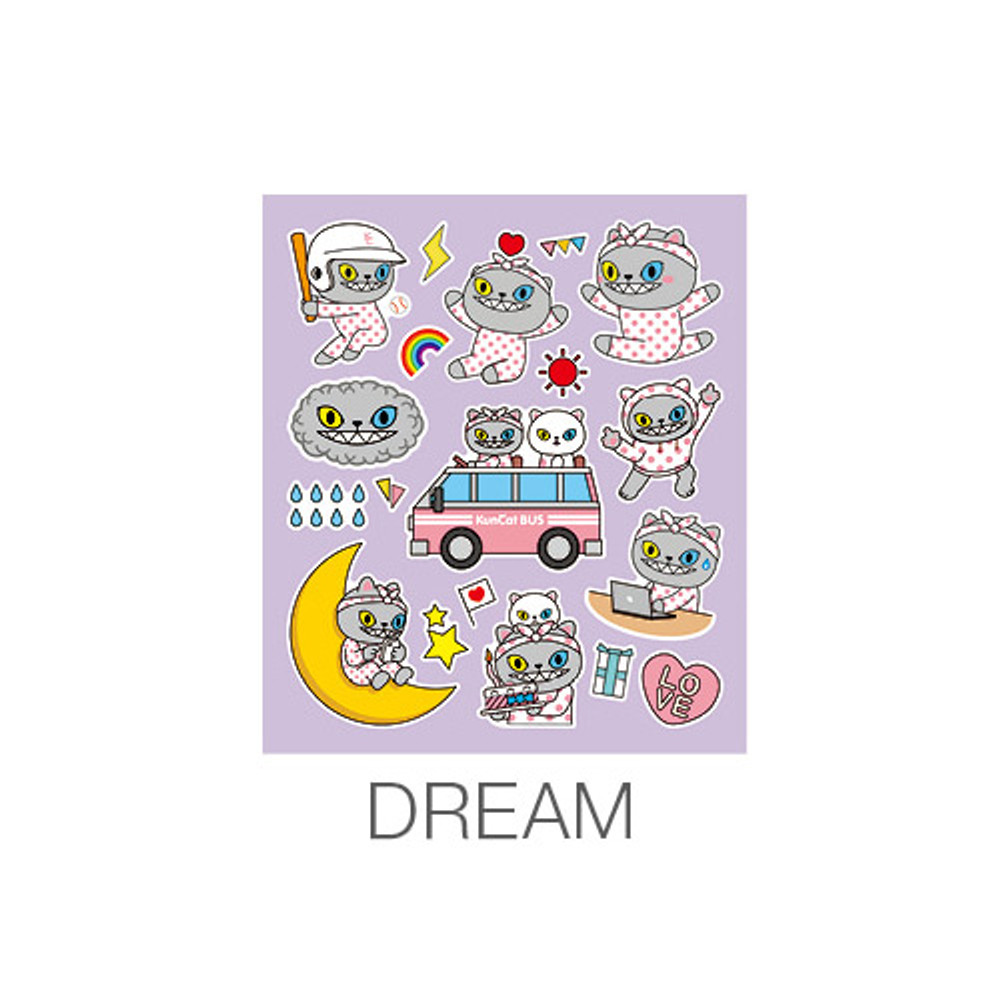 Dream - Ardium Kuncat paper point deco sticker
