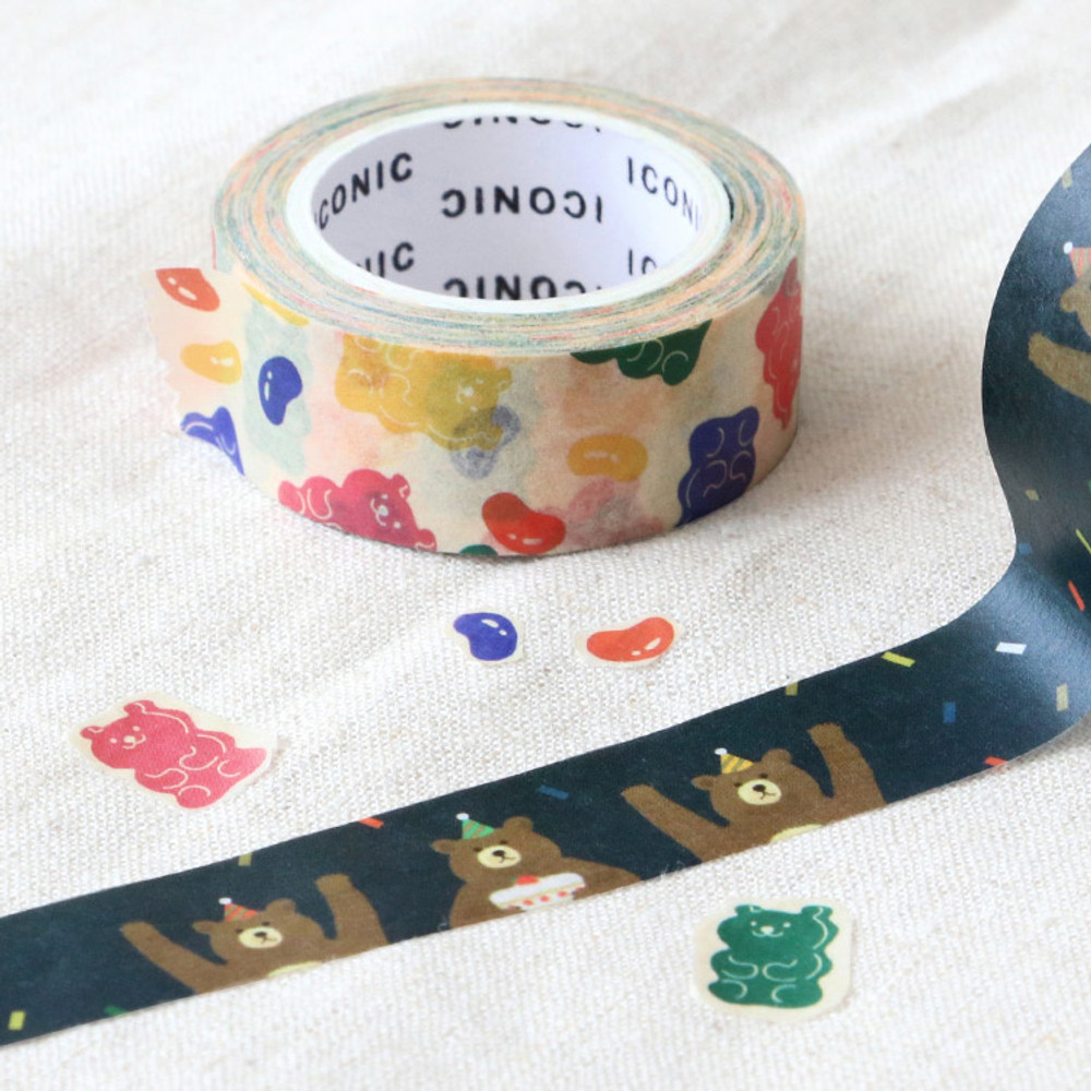 Example of use - ICONIC Vintage pattern paper deco masking tape