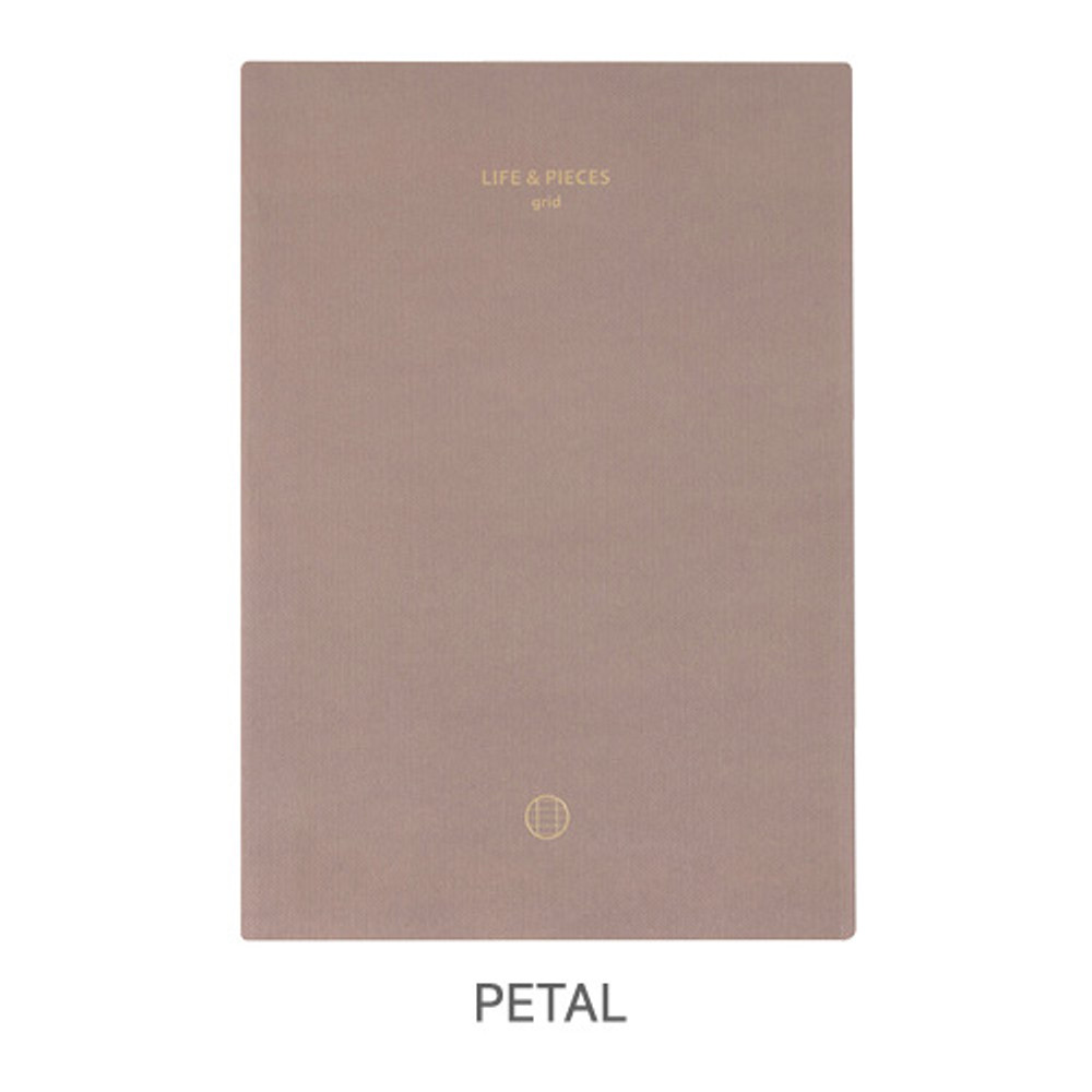 Petal - Livework Life and pieces large grid notebook