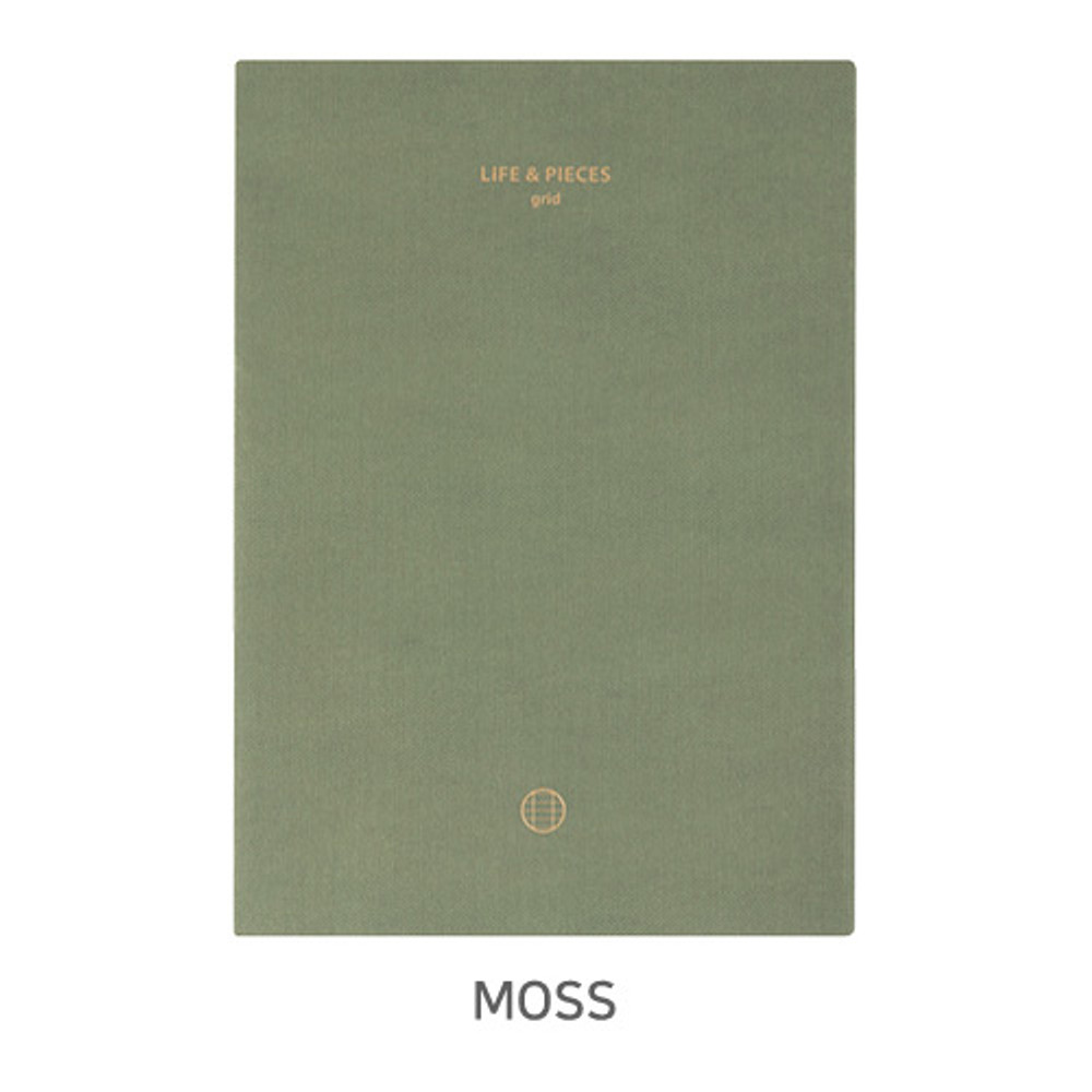 Moss - Livework Life and pieces large grid notebook