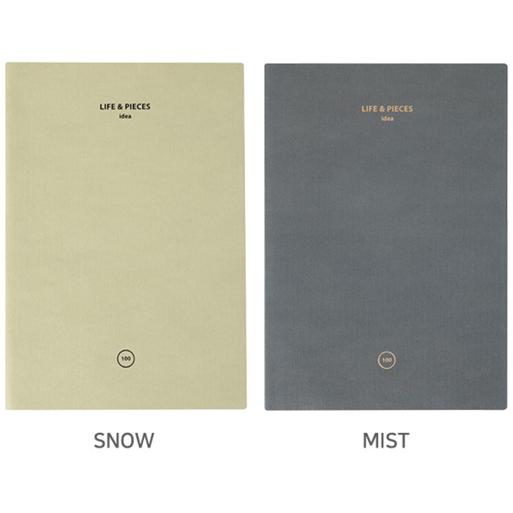 Option - Livework Life and pieces large idea blank notebook